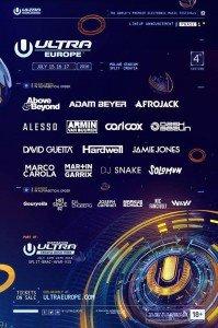 lineup ultra europe 2016