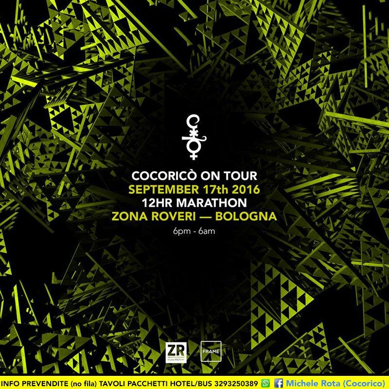 Cocorico On Tour 17 09 2016 Zona Roberi Bologna