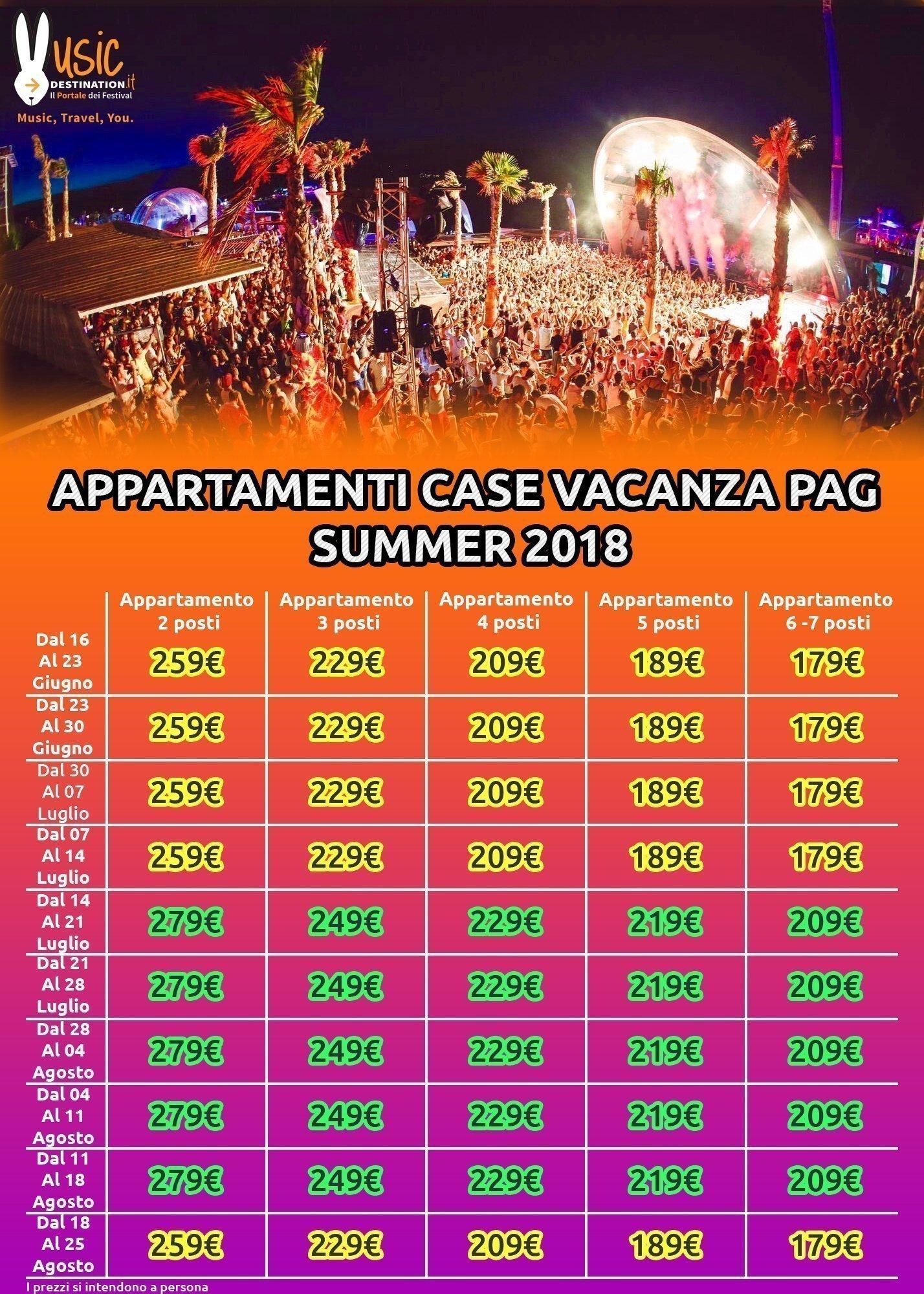 Appartamenti Pag Zrce