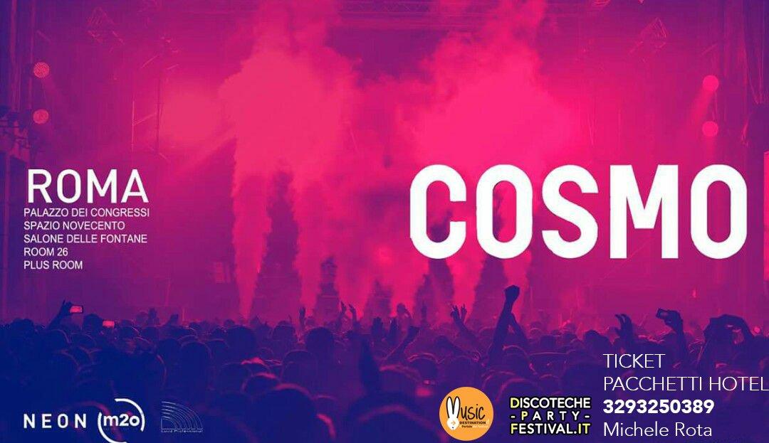 Cosmo Festival 2018 Capodanno Roma 31 12 2017