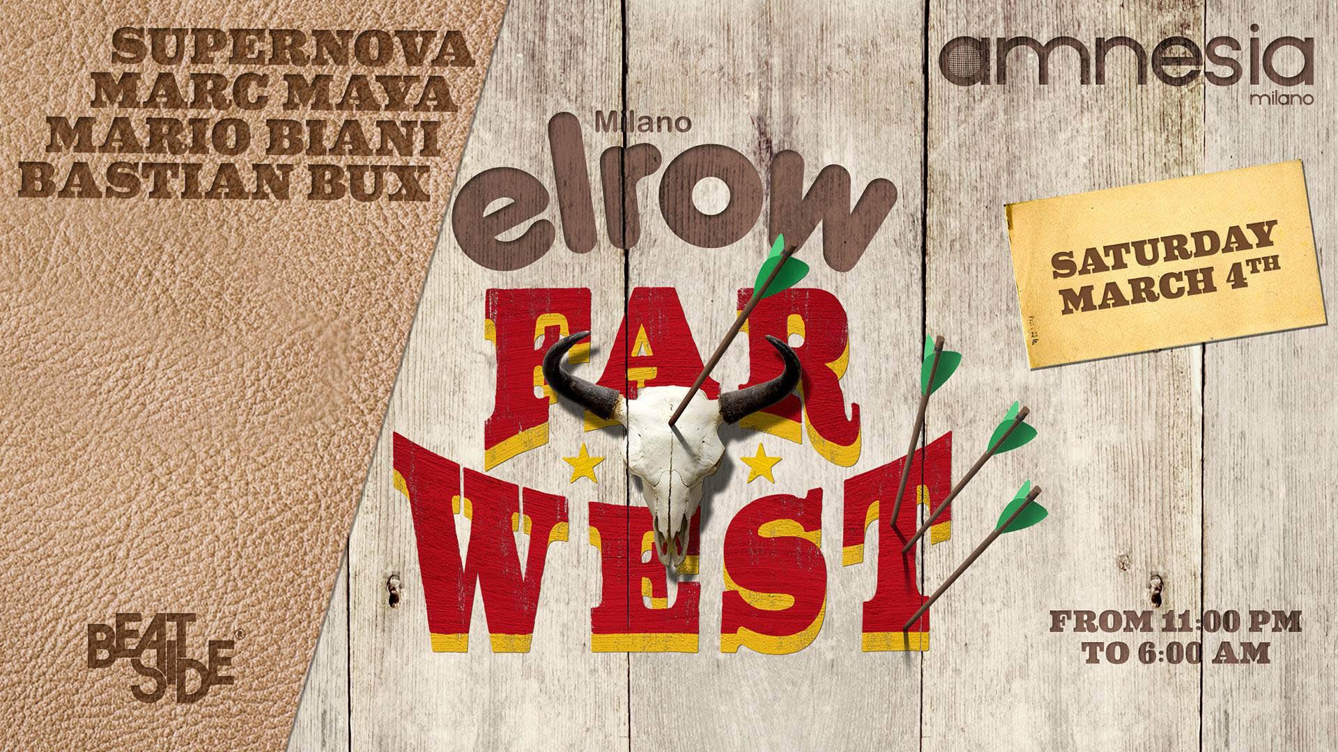 Amnesia Milano Elrow 04 03 2017