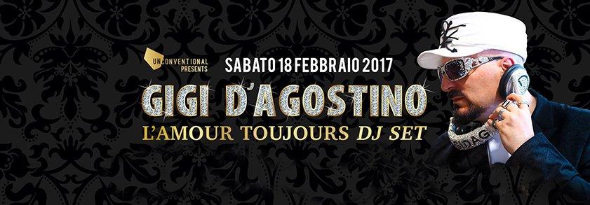 Gigi D'agostino Fabrique Milano 18 02 2017