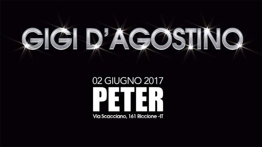 Gigi D'agostino Peter Pan Riccione 02 06 2017