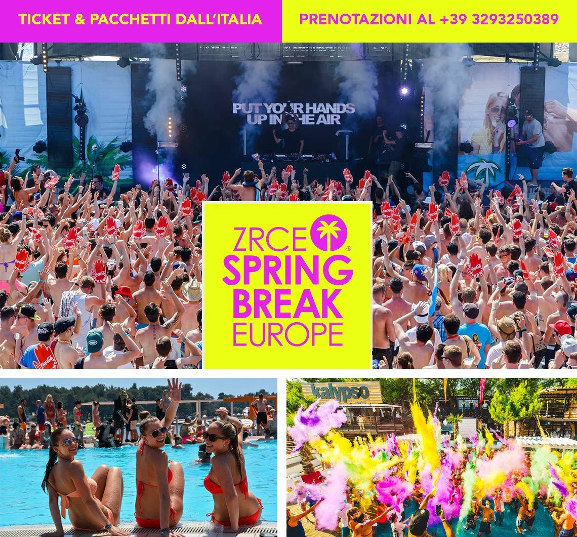 Zrce Spring Break Europe
