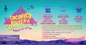 pacchetto COCORICO 3DAYS FESTIVAL 14 15 16 AGOSTO MICHELE
