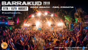 barrakud festival 2019 ZRCE BEACH CROAZIA