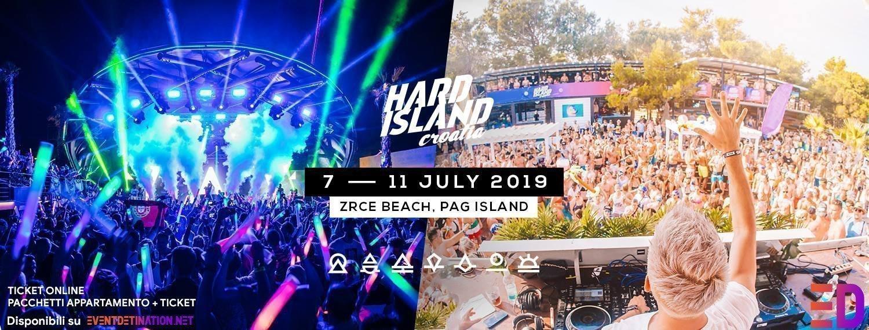 HARD ISLAND 2019 TICKET PACCHETTI