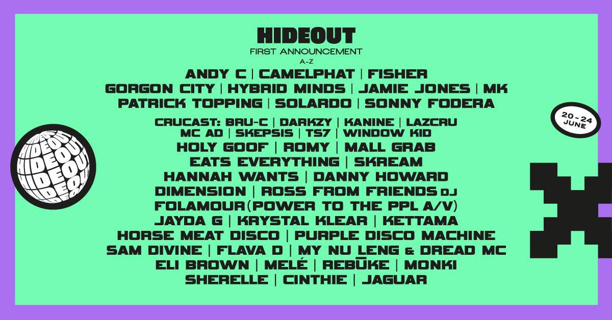 Hideout Festival 2021 Pag
