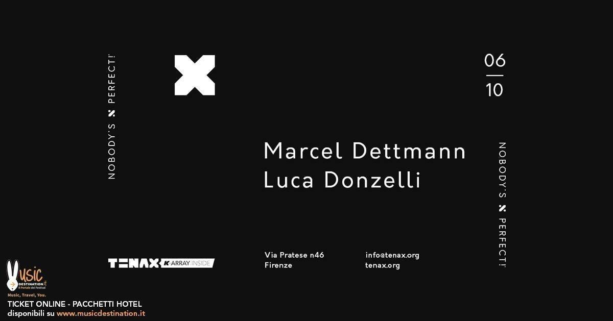Marcel Dettmann Tenax Firenze 06 Ottobre 2018 Ticket Pacchetti Hotel