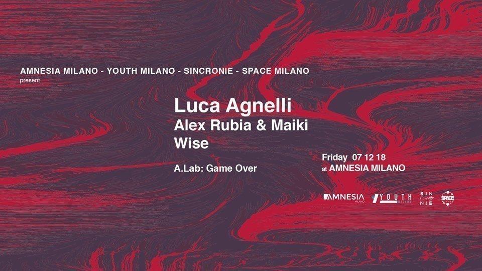 Amnesia Luca Agnelli 07 Dicembre 2018 Ticket Pacchetti Hotel