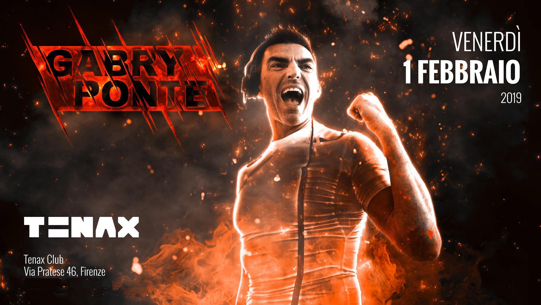 Gabry Ponte Tenax Firenze 01 Febbraio 2019
