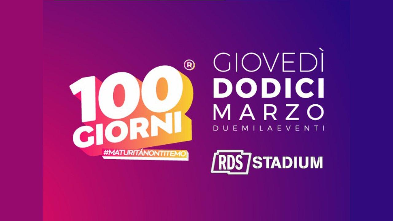 Cento Giorni Allesame 2020 Rimini Riccione Rds Stadium