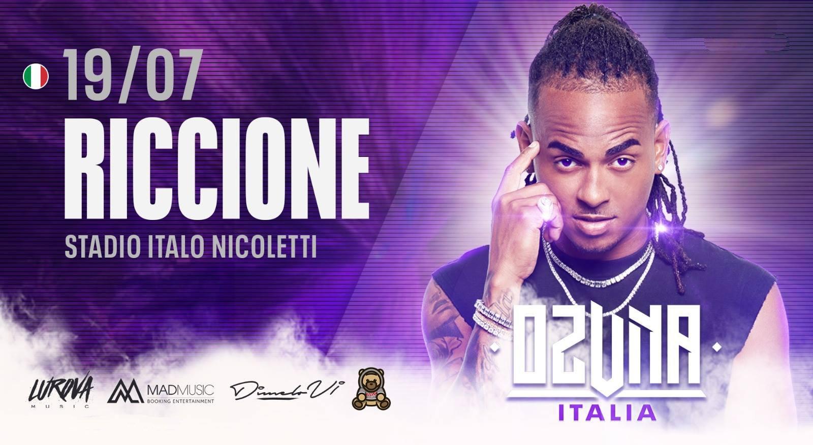 Ozuna Riccione Stadio Italo Nicoletti 19 Luglio 2019
