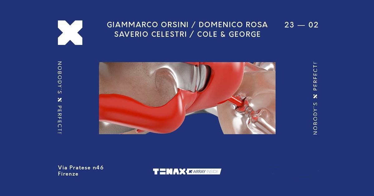 Tenax Firenze 23 Febbraio 2019 Ticket