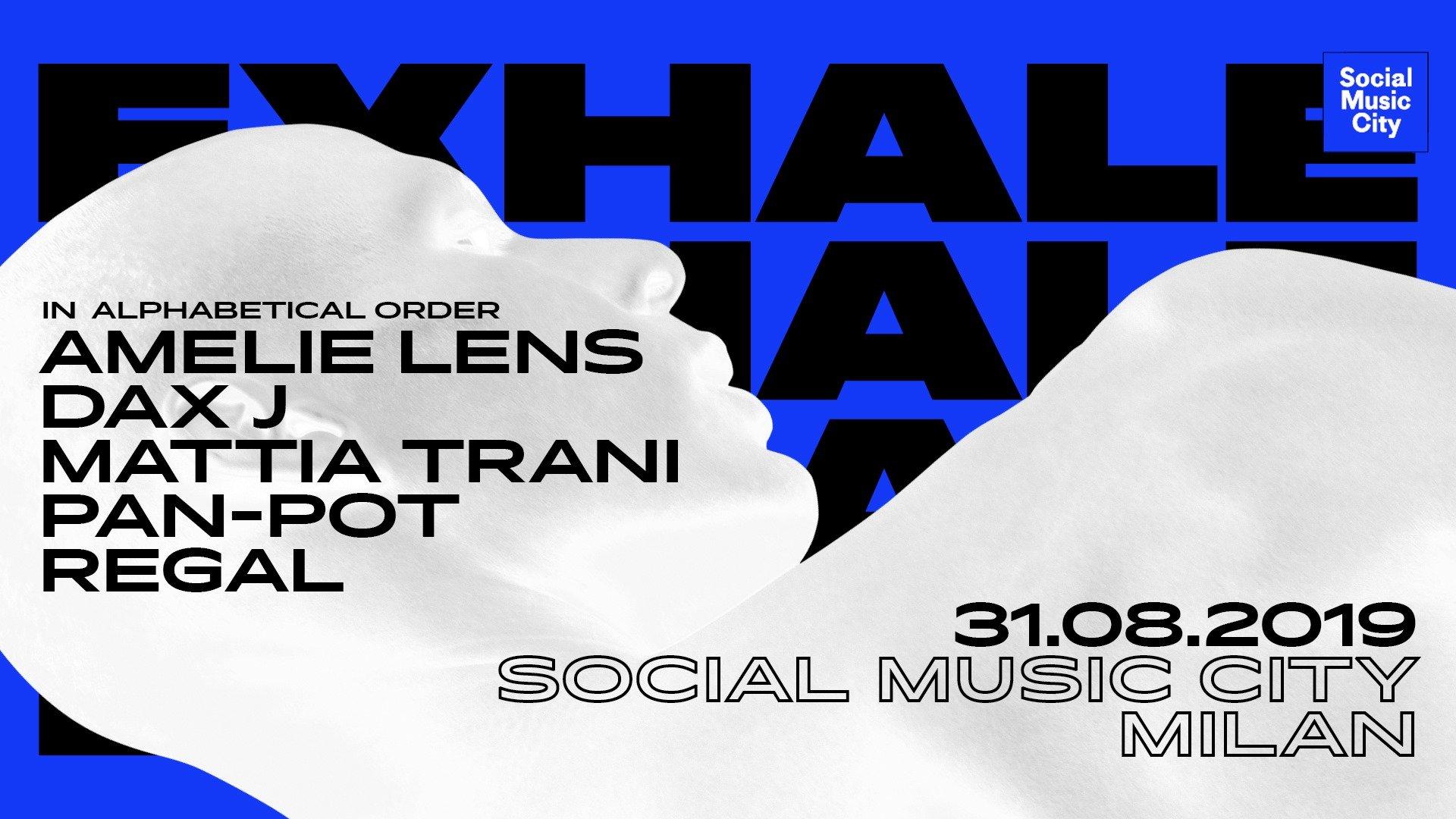 Amelie Lens Social Music City Milano 31 Agosto 2019