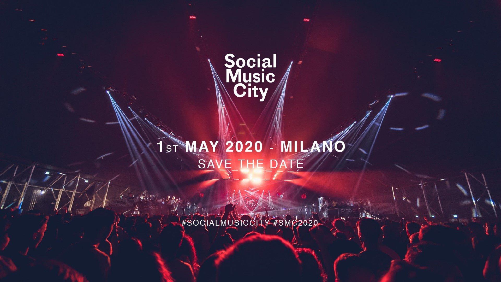 Social Music City 2020 Milano Programmazione Eventi