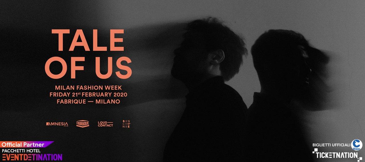 Tale Of Us Al Fabrique Milano Venerdì 21 Febbraio 2020