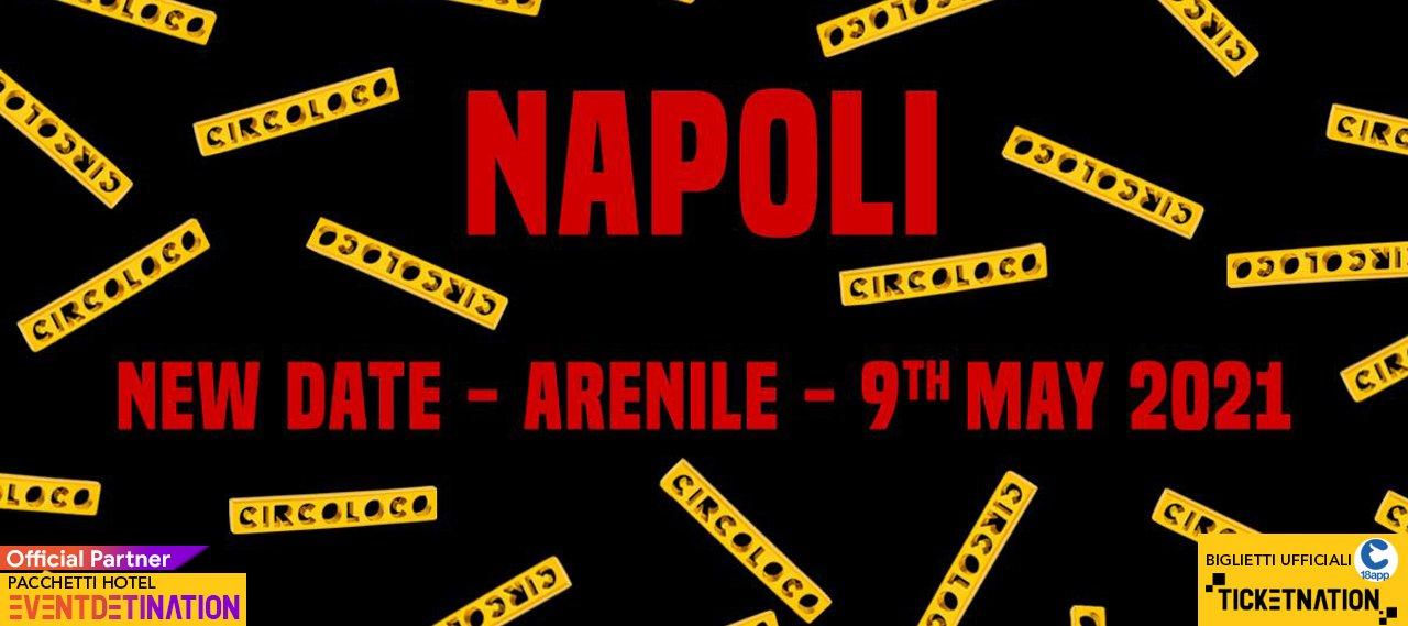 Circoloco Napoli Arenile Bagnoli International Talent – Domenica 09 Maggio 2021