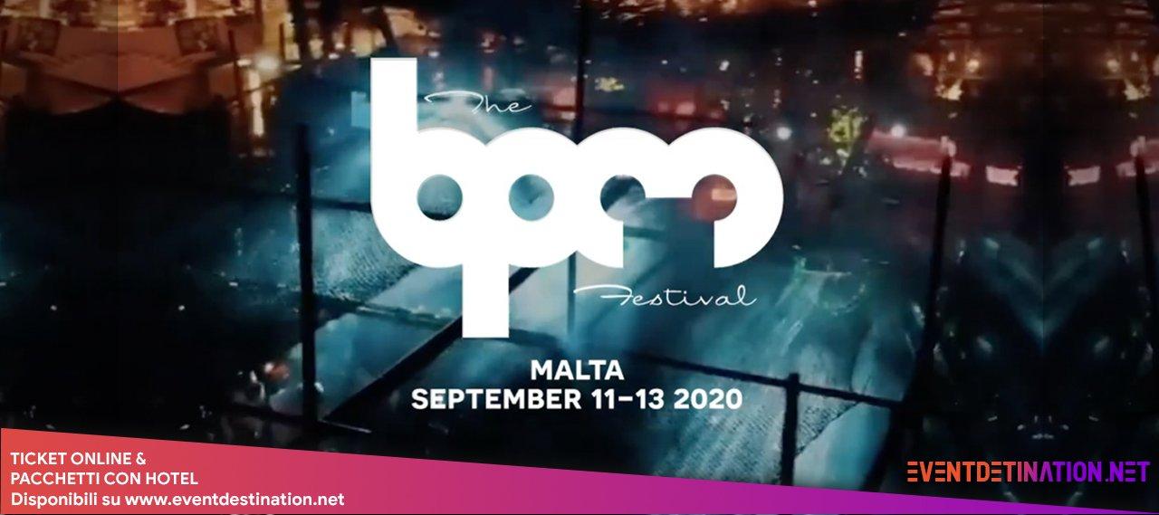 BPM FESTIVAL MALTA 2020 11 13 SETTEMBRE