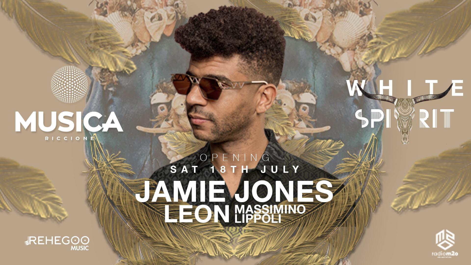 JAMIE JONES Musica Club Riccione – Sabato 18 07 2020