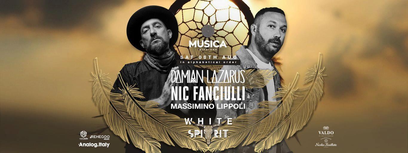 NIC FANCIULLI MUSICA RICCIONE 08 LUGLIO 2020 NOTTE ROSA 2020