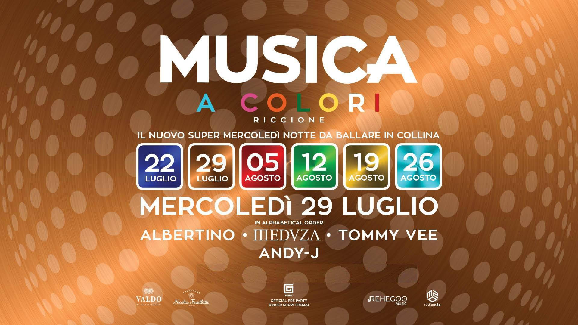 Albertino Musica Riccione Mercoledì 29 07 2020