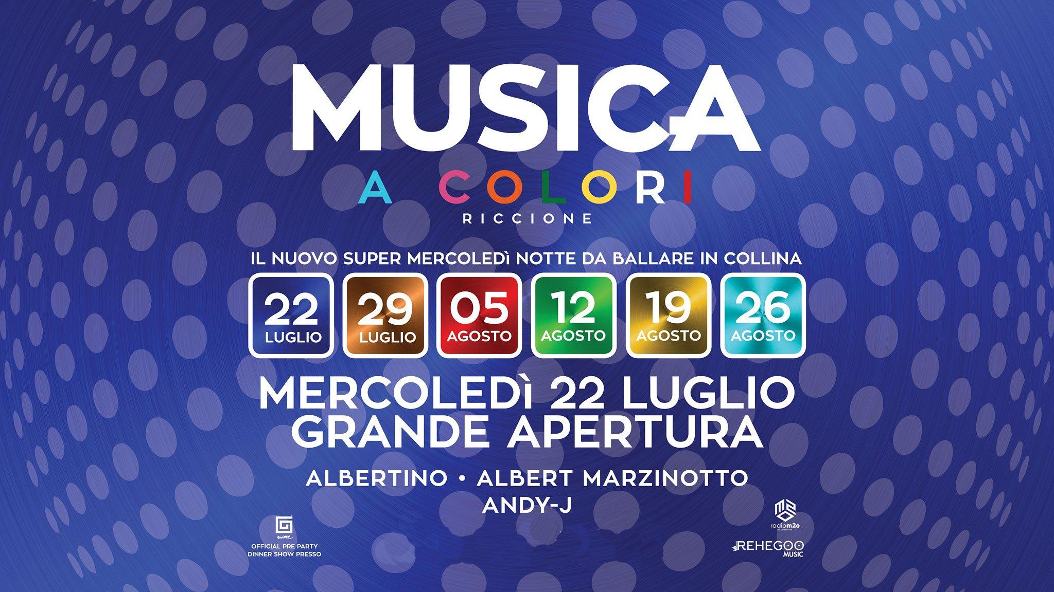 Albertino Musica Riccione Mercoledì 22 07 2020