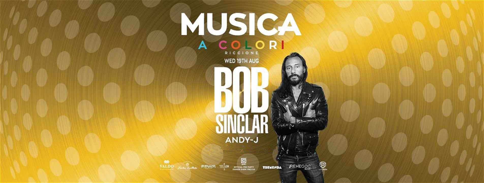 Bob Sinclar Musica Riccione – Mercoledì 19 08 2020
