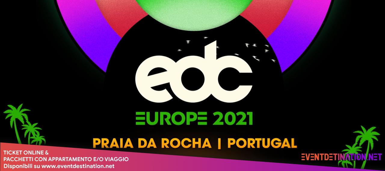 edc festival portugal 2021 18 19 20 06 biglietti e pacchetti hotel