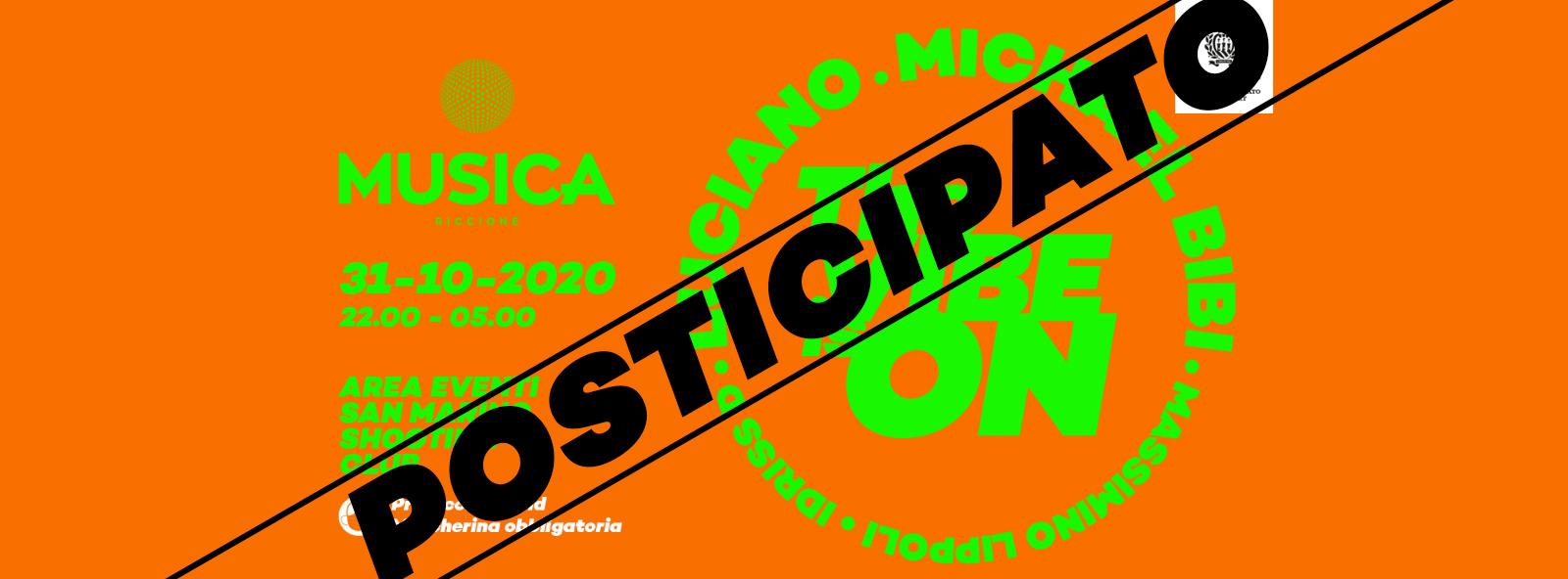 [ Posticipato ] Michael Bibi + Luciano Halloween A San Marino Con Musica Riccione Sabato 31 10 2020 Biglietti Prevendite Tavoli Pacchetti Hotel