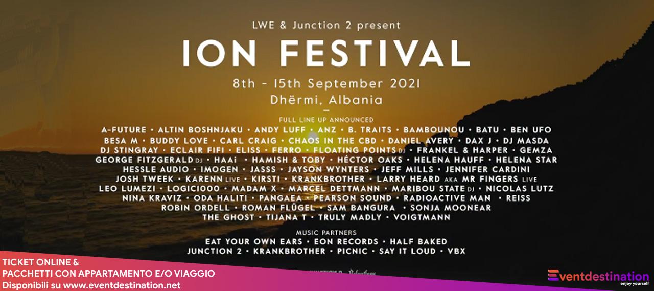 ion festival albania 8 15 settembre 2021